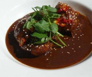 Chile Chipotle And Plantain Mole Mole De Chile Chipotle Con Pl 225 Tano Macho Elrestaurante Com