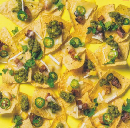 Pineapple Bacon Nachos