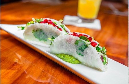 Las Brisas Pomegranate and Goat Cheese Tacos picture