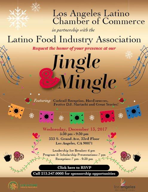 Latino Food Industry Association Jingle and Mingle