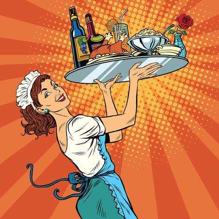 Waitress Full Platter