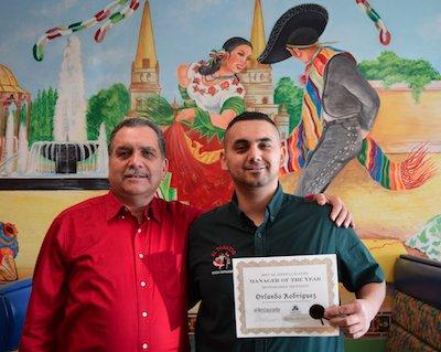 Jose Rodriguez with Orlando Rodriguez