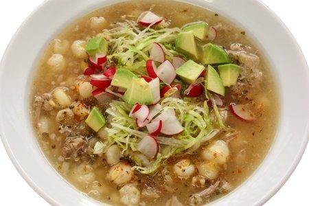 Hominy Chorizo Soup