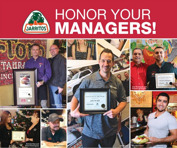 Jarritos Honors Managers