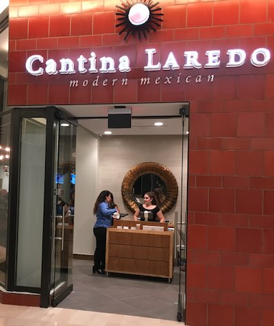 Cantina Laredo in the Mall of San Juan
