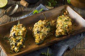 Chiles Rellenos con Quinoa