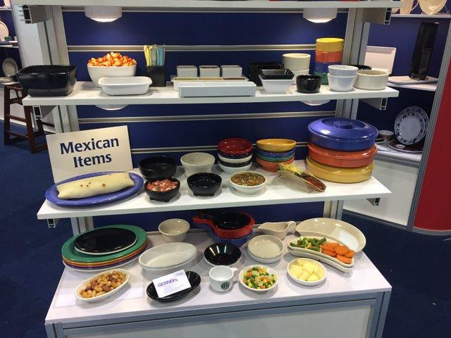 Plastic Mexican Tableware from Gessner