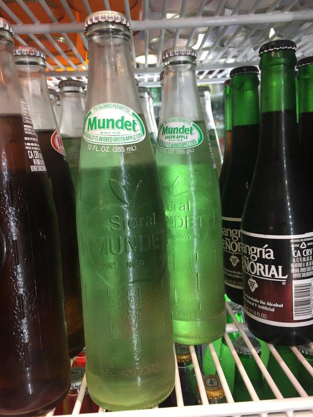 Sidral Mundet Apple Soda from Novamex