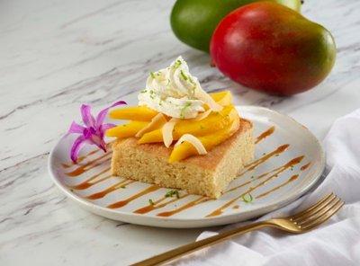 Smoked Mango Pound Cake