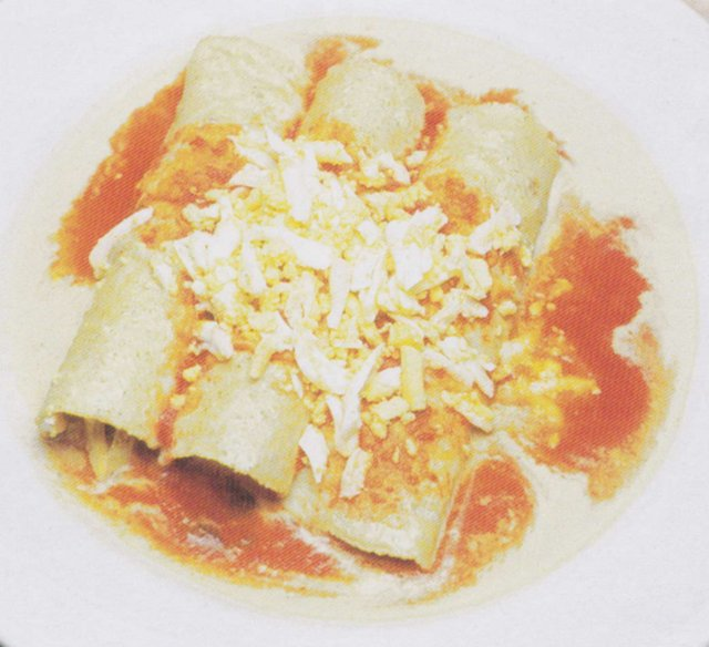Papadzules: Egg Enchiladas