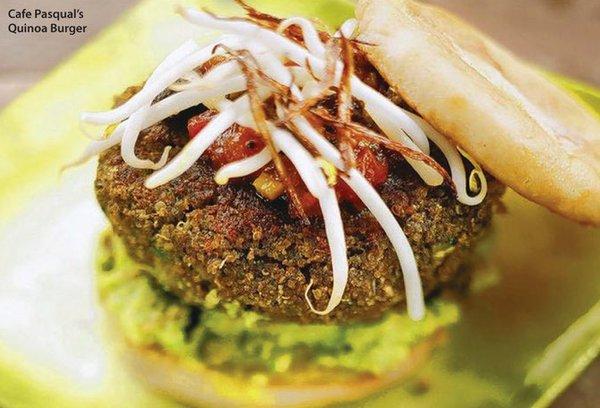 Quinoa Burger and Cafe Pasqual