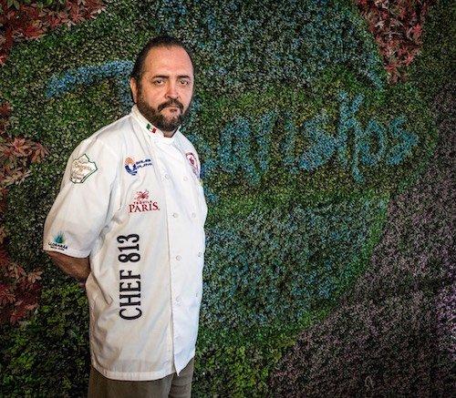 Chef Victor Manuel Arellano