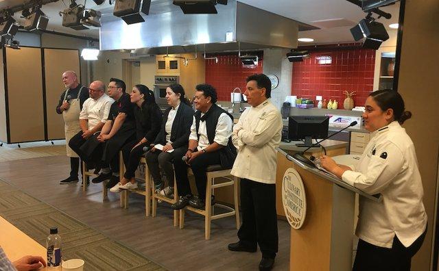 Chefs Present at CIA Event