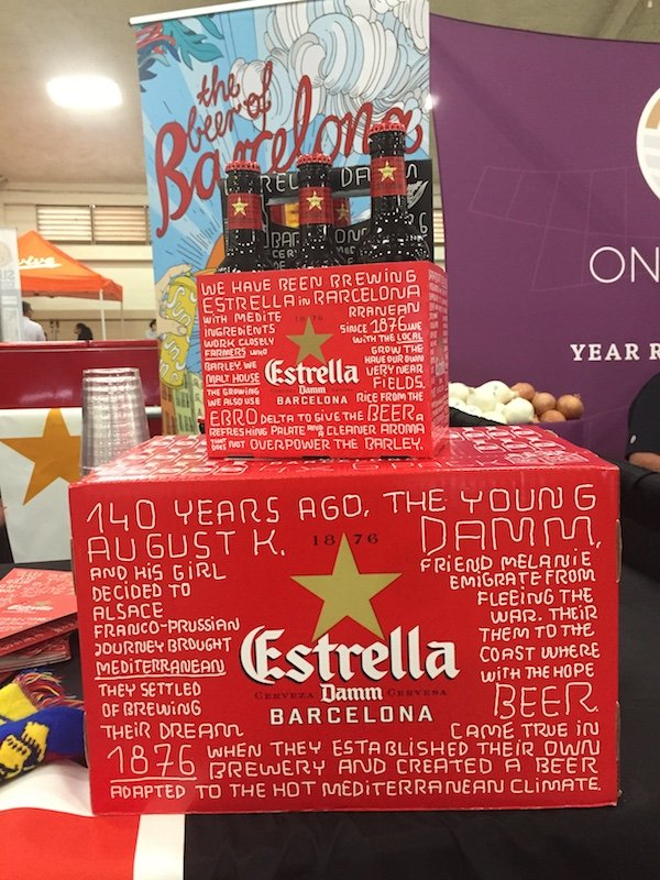 Estrella Damm Beer