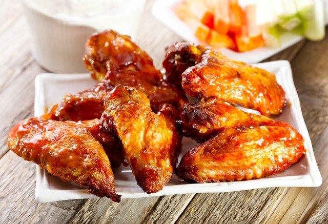 Mezcal Chicken Wings