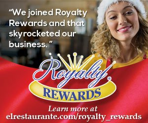 Royalty Rewards ad