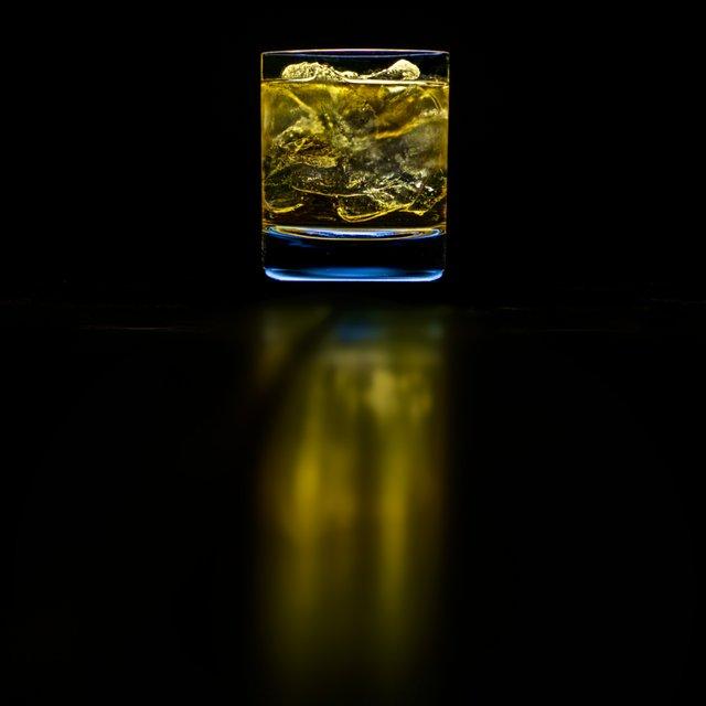 Dark Whiskey Cocktail