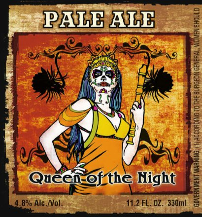 Day of the Dead label