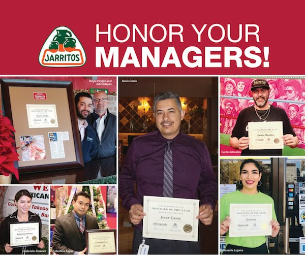 2019 el Restaurante Manager of the Year Contest