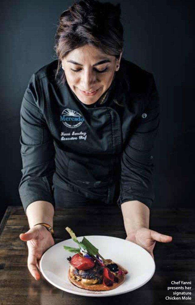 Chef Yanitzin Sanchez