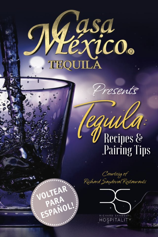 Casa Mexico Tequila Recipe Booklet