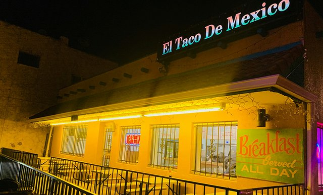 El Taco de Mexico in Denver