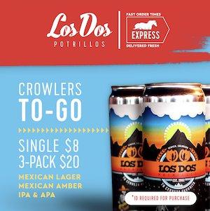 Los Dos Potrillos Beer to go
