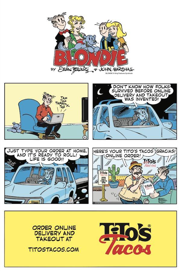 Blondie Tito's Cartoon