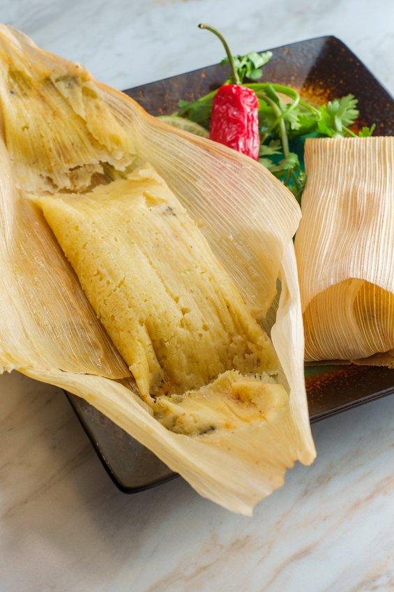 Sweet Corn Tamale