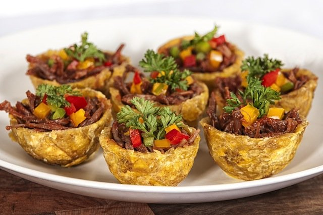 Shredded Beef Tostones Rellenos Restmex Com