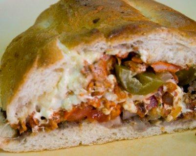 "Tortas al Pastor: Adobo Marinated Pork Sandwich ""al Pastor"" Style ..."