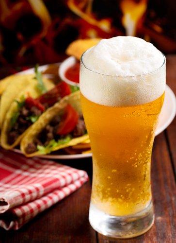 Beer in restaurant