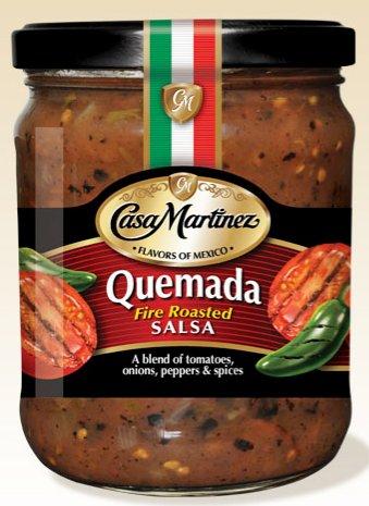 Casa Martinez Quemada Salsa