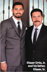 Eliazer Ortiz Jr. and his father, Eliazer, Sr.