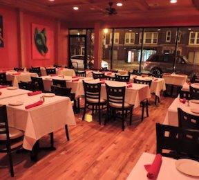 The Interior of Mixteco Grill